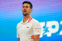 Novak Djokovic Low Level Serbia Open Aslan Karatsev