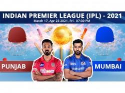 Ipl 2021 Pbks Vs Mi Match 17 Toss Report And Playing 11 Update Punjab Opt To Bowl Against Mumbai