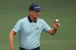 Justin Rose Leads The Masters Marc Leishman Jordan Spieth Apply Pressure