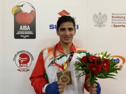 Aiba Youth Boxing Championships Sachin Clinches Eighth Gold As India End Historic Campaign With