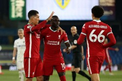 Leeds United 1 1 Liverpool Mane Sends Reds Fourth Amid