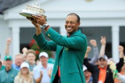 The Masters Tiger Woods Bummed Missing Augusta Justin Thomas
