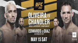 Oliveira And Chandler To Battle For Vacant Lightweight Title At Ufc