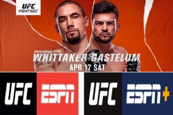 Ufc Vegas 24 Middleweight Contenders Collide In Highly Anticipated Main Event