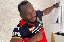 Ipl 2021 Usain Bolt Cheers For Rcb Ahead Of Season Opener