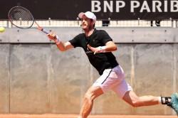 Andy Murray Liam Broady Play Internazionali Bnl Ditalia Doubles
