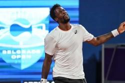Gael Monfils Stunned By Qualifier Carballes Baena Belgrade Atp Tour