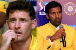 Ipl 2021 Covid 19 Positive Csk Duo Hussey And Balaji Flown To Chennai In Air Ambulance