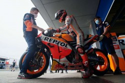 Marc Marquez Limited To Seven Laps At Jerez Test After Spanish Gp Crash