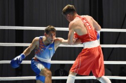 Asian Boxing Championships Hussmuddin Loses In Quarters Panghal Vikas And Ashish To Play Day