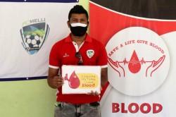 Nirmal Chhetri Organises Blood Donation Camp To Aid Hometown S Battle Against Covid