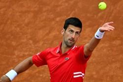 Novak Djokovic Saved By Rain Against Stefanos Tsitsipas In Rome Rafael Nadal Beats Alexander Zverev