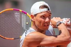 Rafael Nadal Novak Djokovic Roger Federer Same Half French Open Draw