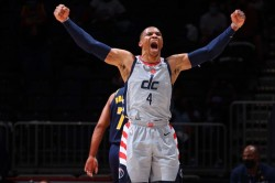 Beal Westbrook Wizards 76ers Nba Playoffs Play In Tournament