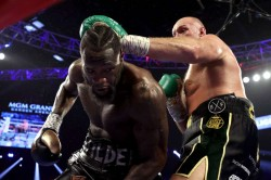 Tyson Fury Take Back What I Never Lost Anthony Joshua Report Deontay Wilder Complication