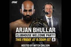 Indian Mma Fans Can Chat With One Heavyweight Champ Arjan Bhullar On Clubhouse