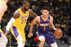 Nba Playoffs 2021 Phoenix Suns Booker Lakers Nuggets Trail Blazers Lebron