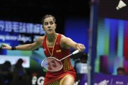 Carolina Marin Pulls Out Of Tokyo Olympics Due To Knee Injury