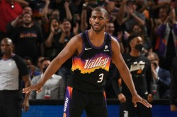 Nba Playoffs 2021 Suns Pin Down Nuggets In Opener As Paul Hails Phoenix Tag Team