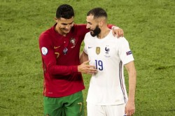 Benzema Reveals What He Said To Ex Real Madrid Team Mate Ronaldo After Euro 2020 Draw
