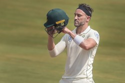 Psl Du Plessis Suffers Concussion While Fielding Taken To The Hospital For Scans
