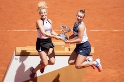French Open Krejcikova Clinches Rare Paris Double To Cap Breakthrough Slam