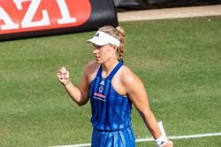 Wta Angelique Kerber Progresses Katerina Siniakova Bad Homburg Final