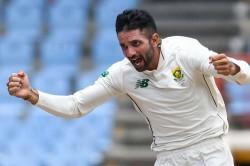 Keshav Maharaj Hat Trick South Africa Whitewash West Indies 2 0 Test Series