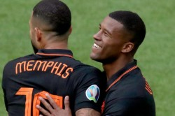 Euro 2020 North Macedonia 0 3 Netherlands Depay Wijnaldum On Fire As Classy Oranje Make History