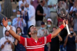 French Open 2021 Novak Djokovic Fights Back From Two Sets Down To Clinch His 19th Grand Slam Title