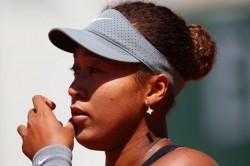 Naomi Osaka Mental Health French Open Roland Garros Tennis Wta World Players Association