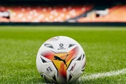 The Official Match Ball Of 2021 22 Season Puma La Liga Launch Accelerate