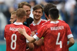 Finland 0 1 Russia Miranchuk Strike Sets Up Thrilling Finish To Group B In Euro