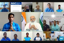 Tokyo 2020 Pm Narendra Modi Interacts With Olympic Bound Indian Athletes Motivates Them