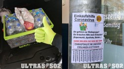 Football Ultras Supporting Germany Flooding Aid Efforts