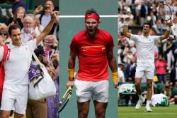 Federer Vs Djokovic Vs Nadal Grand Slams Head To Head Stats And Records