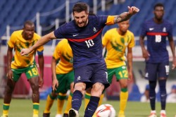 Tokyo Olympics Gignac Hat Trick Helps Deny South Africa As Spain End 21 Year Wait