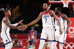 Tokyo Olympics Usa Played With Freedom In Iran Win Kevin Durant