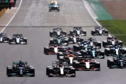 Verstappen Crashes Out On First Lap Of British Grand Prix After Hamilton Collision
