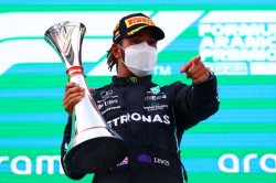 Breaking News Hamilton Signs Two Year Mercedes Extension