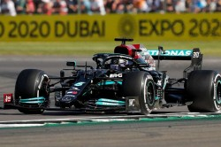 Hamilton Wins British Grand Prix As Horner Rages Over Verstappen Crash