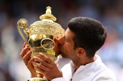 Wimbledon Djokovic Hails Legends Federer And Nadal After Claiming 20th Grand Slam Title