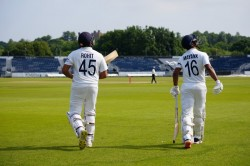 India In England Rohit Sharma Mayank Agarwal Cheteshwar Pujara Disappoint On Day 1 Of Warm Up Game