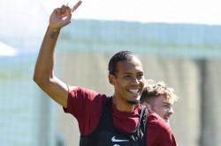 Liverpool Defender Virgil Van Dijk In Contention To Make Injury Return Against Hertha Berlin