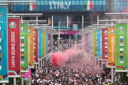 Fa Commissions Independent Review Into Disgraceful Scenes At Euro 2020 Final Between England Italy