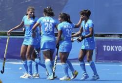 Tokyo 2020 Indian Women Reach Hockey Quarterfinals After Four Decades To Face Australia