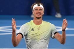 Tokyo Olympics Zverev Nets Tennis Gold As Djokovic Conqueror Lands Brutal Win Over Khachanov