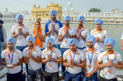 Olympics Hockey Players From Punjab Haryana Get Rousing Welcome On Returning Home