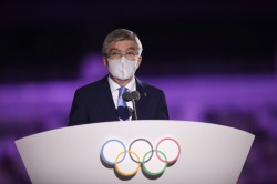 Ioc President Thomas Bach Defended Over Return To Tokyo For Paralympics
