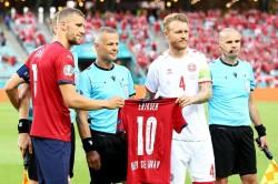 Klopp Pays Tribute To Kjaer Leadership For Response To Eriksen Collapse